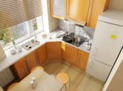 Особенности разработки интерьера узкой кухни