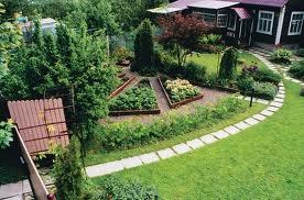 дизайн сада и огорода