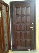Непромерзающая дверь в коттедж