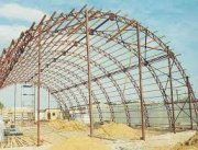 Нюансы конструкции арочных ангаров